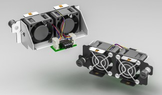 40mm Dual Fan Hot-Swap Self-Docking Modules